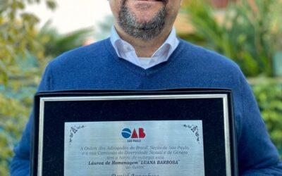 OAB SP entrega láurea de homenagem